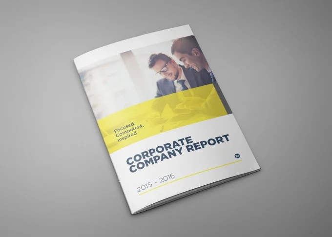 Do business annual report designs by Aman_des