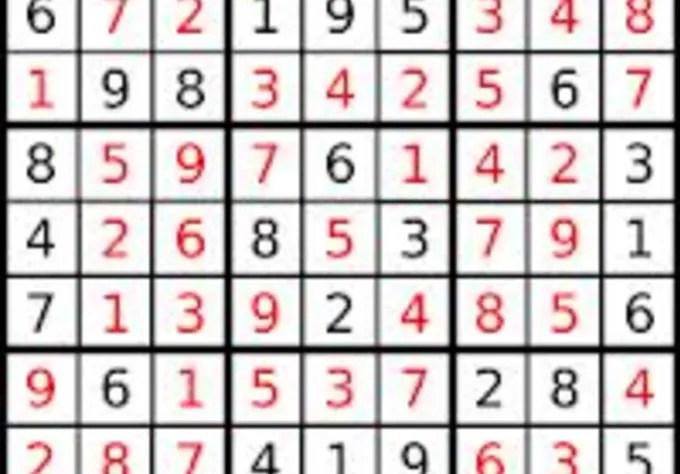 Solve a sudoku puzzle by Dominiklandeka