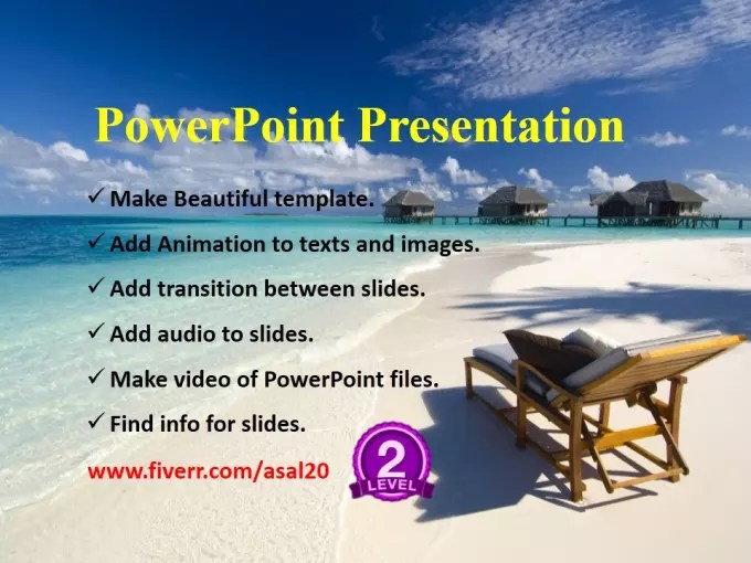 Create a professional powerpoint presentation by Asal20 - create power point