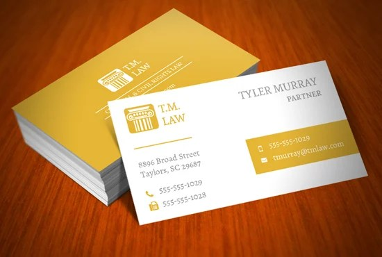Create a custom business card layout by Giblean
