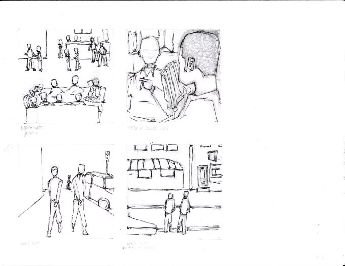 Storyboard your script or scene by Nichneon
