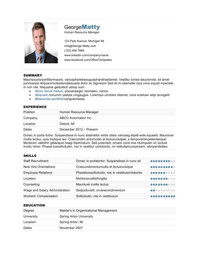 how to make resume appealing