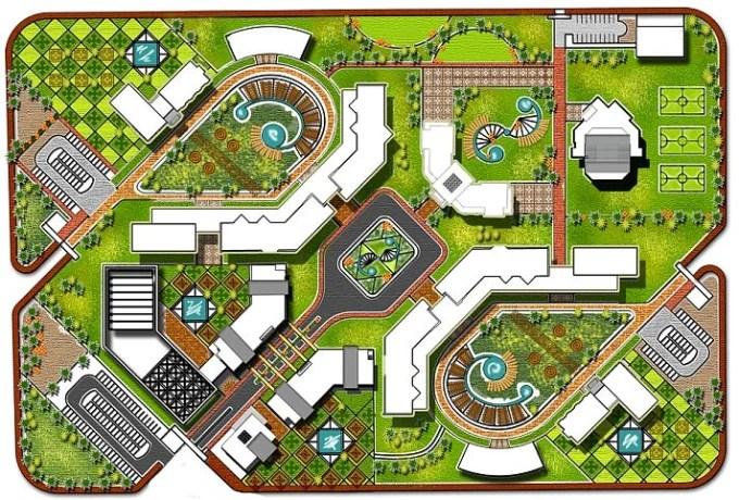 Do architectural plan, site plan and landscape design by Ghadabatta