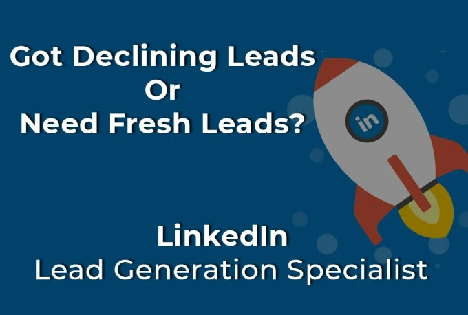 Deliver c level leads from linkedin with valid emails by Darkpsyd