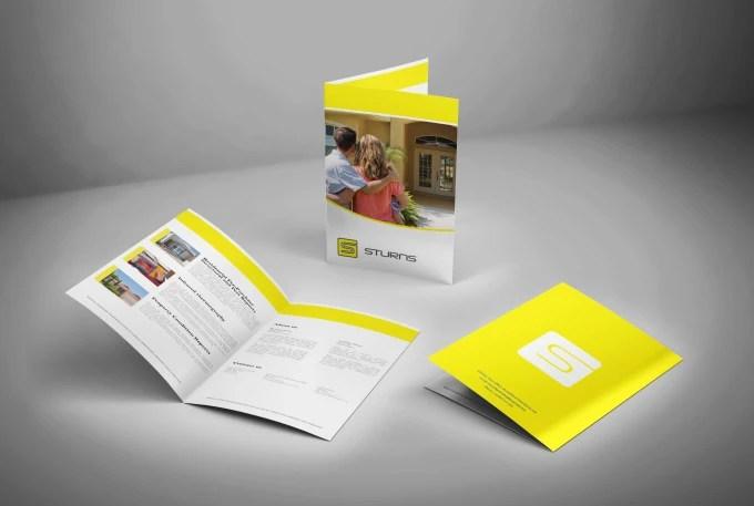 Design professional business bifold brochure by Mutesoft