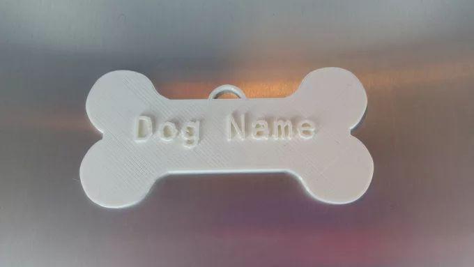 printed name tag