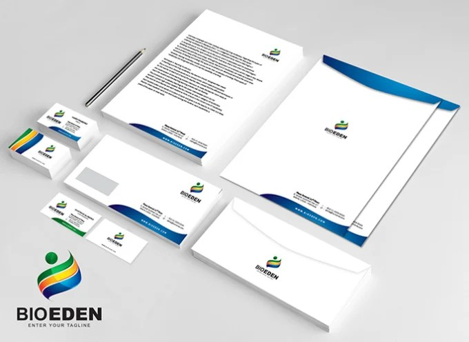 Design your stationery business card letterhead envelope limited - letterhead and envelope design