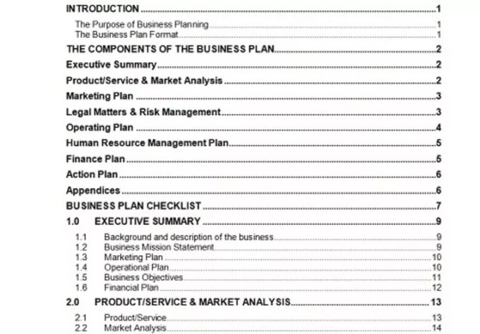 Send you a 63 page business plan template with cash flow forecast - business plan templates