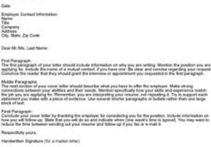 Create an outstanding cover letter by Resumereviewer