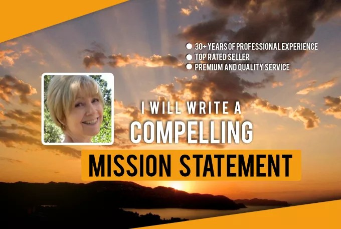 Write a mission statement for your company or nonprofit by Pblose