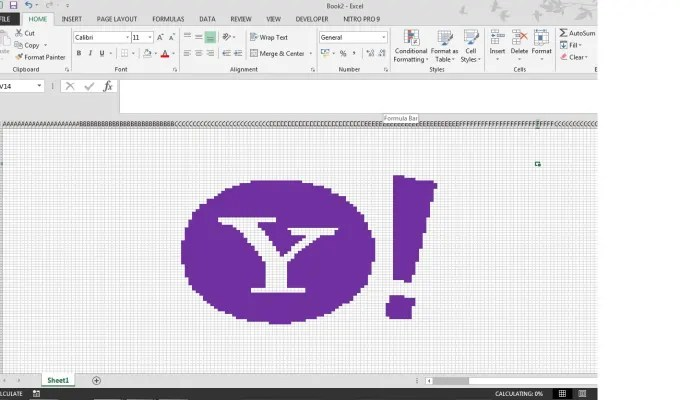 Give you yahoo stock in your excel spreadsheet by Imabus