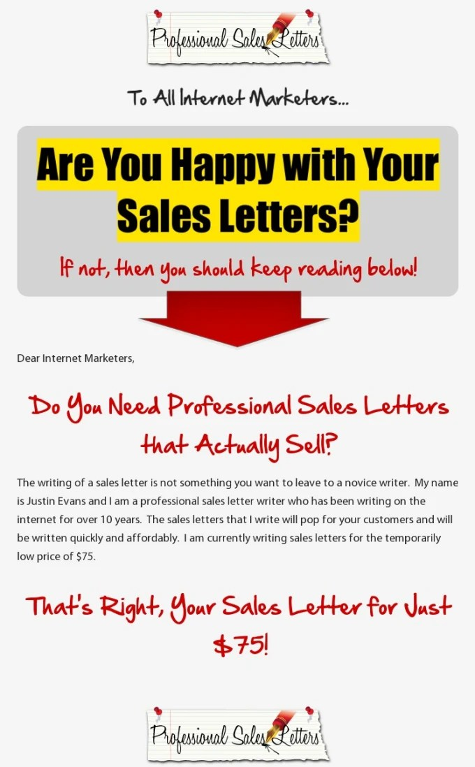 Write a simple emerone sales letter that hooks sells by Emerone