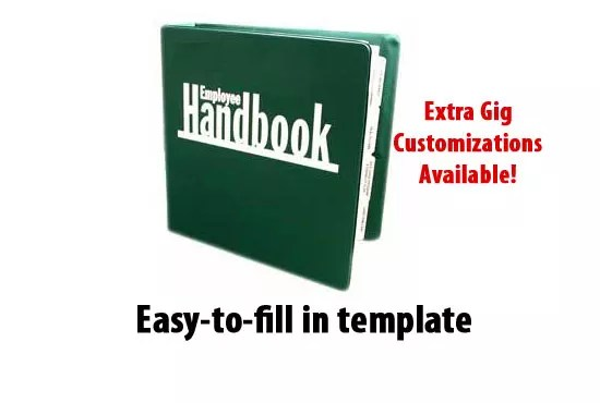 Provide you an employee handbook template by Nbruno5 - handbook template