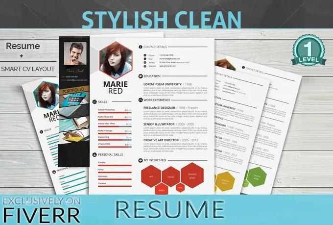 Design or edit your cv, resume or linkedin profile by Mexocline