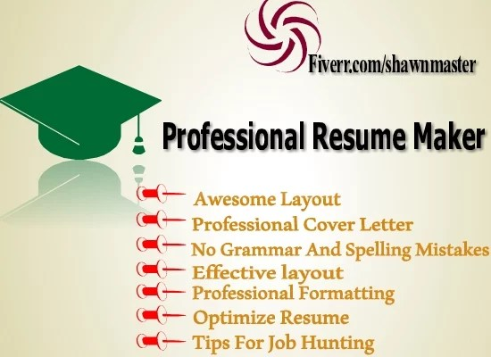 Write an impressive resume and cover letter by Shawnmaster