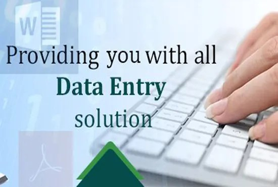 Valuable and effective experience in data entry by Toheed_ullah