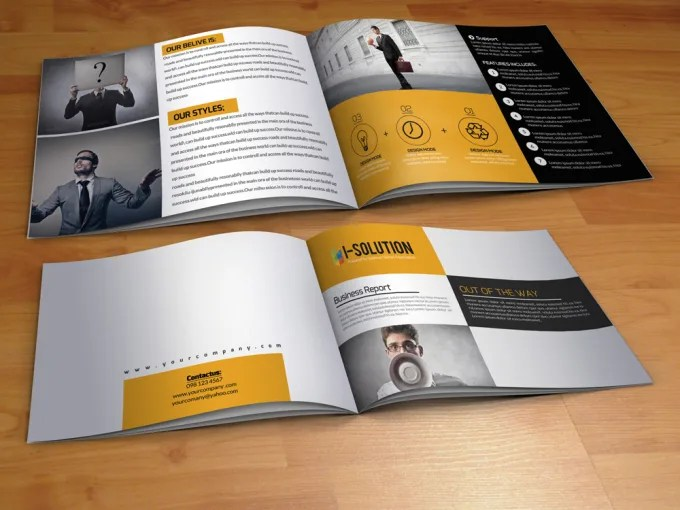 Create modern bifold, trifold brochure, flyer and catalog by Prokas_das - create tri fold brochure