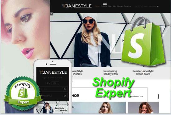 Design shopify theme, shopify template, shopify store, shopify - shopify template