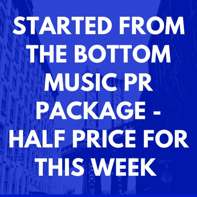 Give pro music promotion music interview blog music pr track review