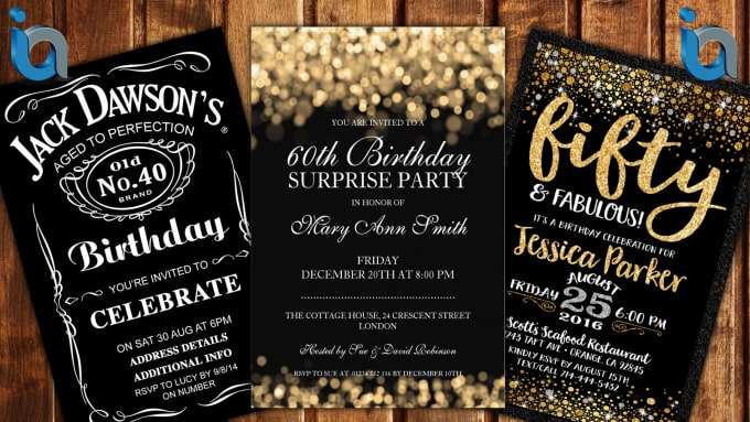 Design a Birthday Invitation Card for your Event
