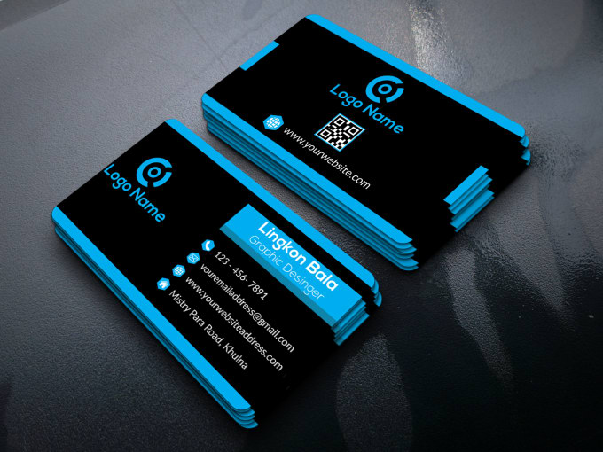 Design professional 2 sided business card within 24 hours by Rahuldas406