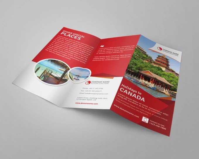 Do stunning corporate flyer,leaflet,brochure,handout design by
