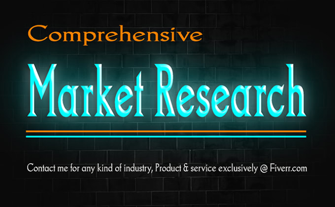 Do market research, competitor, industry analysis and business plan
