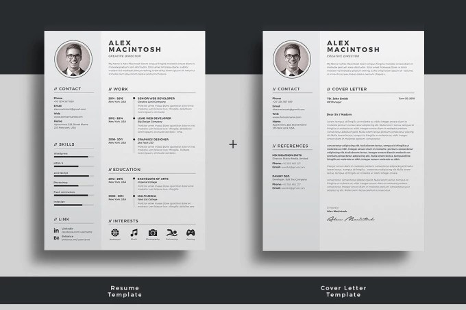 Create a professional and eye catching resume in 24 hours by