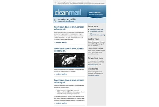 Design mailchimp email newsletter template by Gmarionj