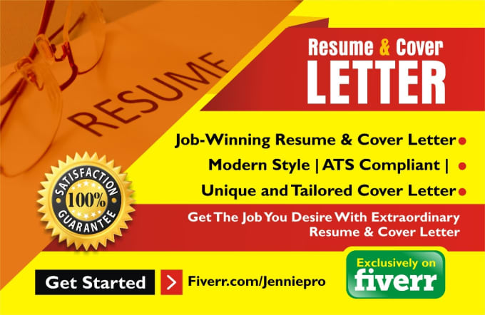 Do professional resume writing or cover letter, resume writer by