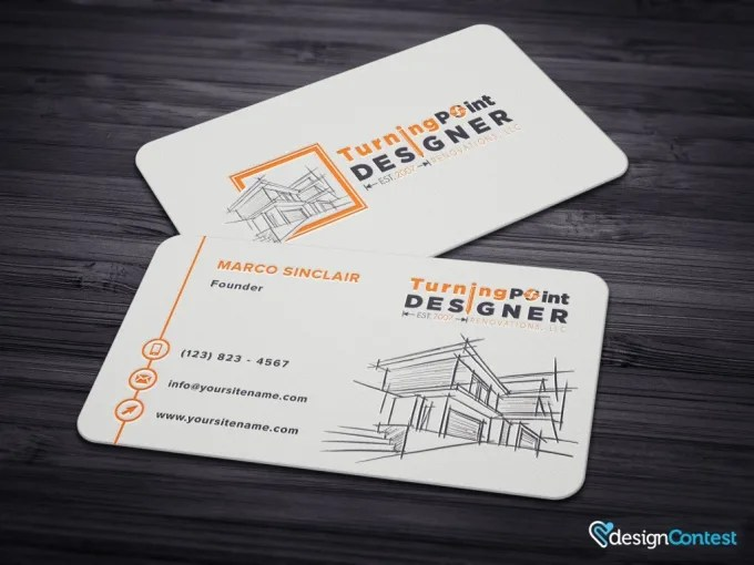 Design you front back business cards special by Fazeel11