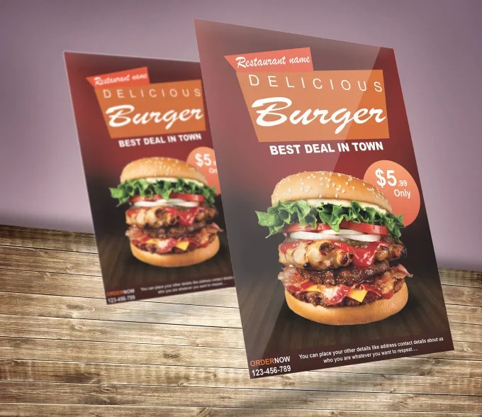 Design food menu and restaurant flyer by Mkhan1122