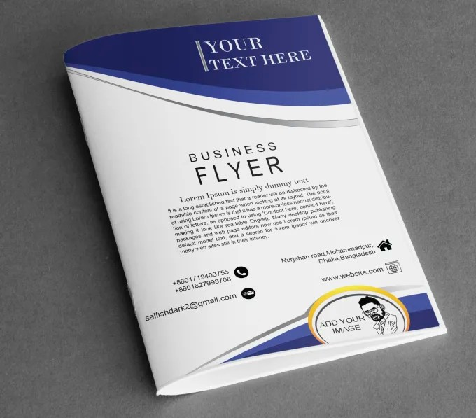 Design promotional brochure,flyer,calendar, poster,booklet,magazine