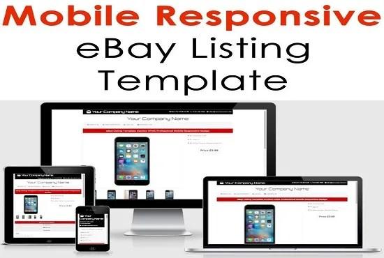 Ebay Html Template Costumepartyrun - Create ebay listing template