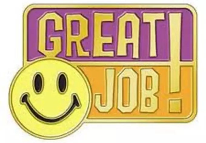 Take tips for a job well done by Lifeanswers - job well done