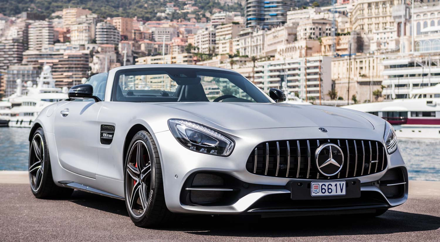 Mercedes Amg Mercedes Amg Gt C Roadster Five Stars Rentals Monte Carlo