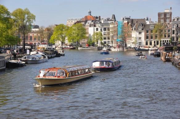 Amsterdam in spring, copyright Jane Wooldridge 2014