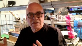 Interview with Leonel Moura