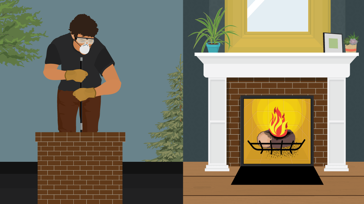 Cleaning A Fireplace How To Clean Your Chimney Fix