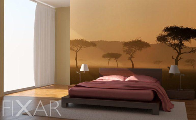 Afrika Schlafzimmer  Das Schlafzimmer Im Nebel Fototapete F252;r Schlafzimmer