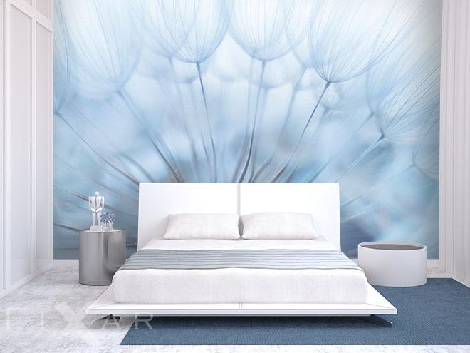 3d Wandgestaltung Schlafzimmer  Erholung In Einer Pusteblume Fototapete F252;r Schlafzimmer