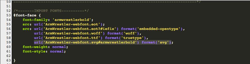 Select & Cut 'SVG' Font Line