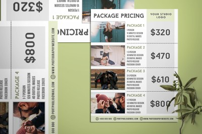 Best Photography Pricing Formula - Price List For ...
