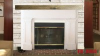 Build a Fireplace Surround and Mantel | FixThisBuildThat