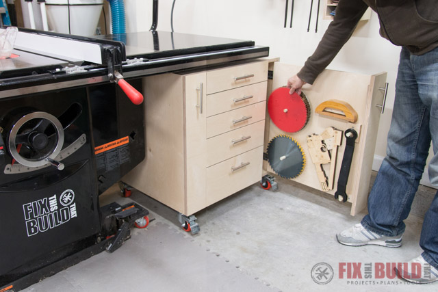 Table Saw Cabinet Diy Storage Fixthisbuildthat