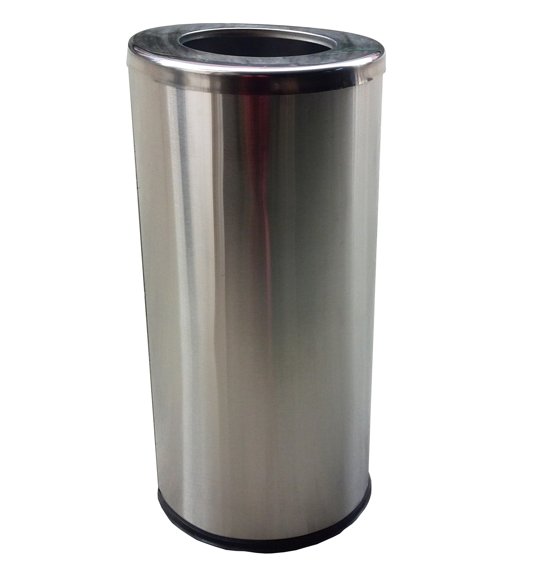 Stainless Steel Tall Kitchen Garbage Can Fixturedisplays Stainless Steel Trash Can Garbage Bin