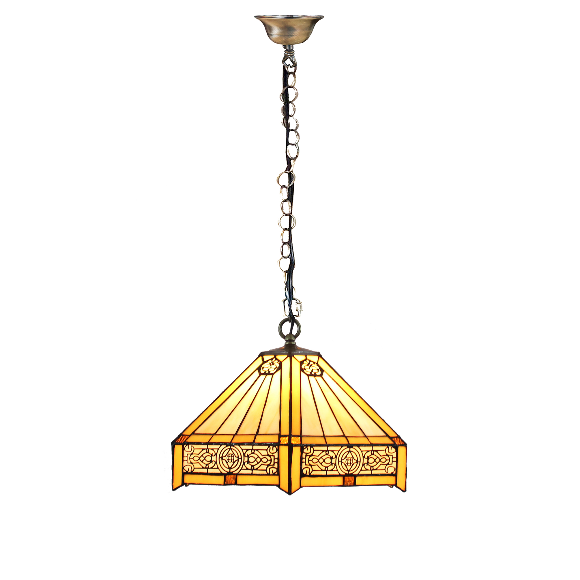 Hanging Bar Light Fixtures Tiffany Hanging Bar Light Stained Glass Island Lamp