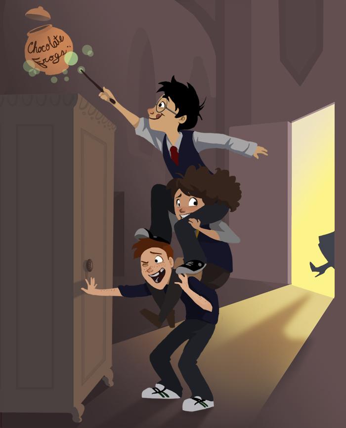 Harry Potter Cartoon Style Art (8)