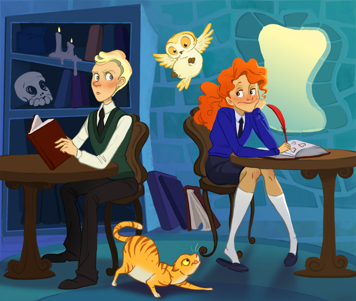 Harry Potter Cartoon Style Art (4)