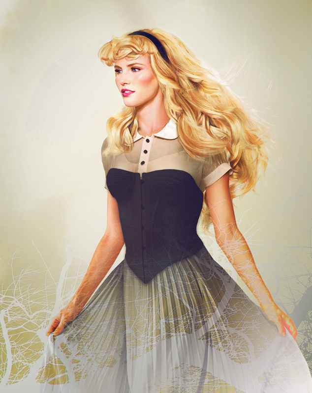Fantastic Realistic Disney Princess Art